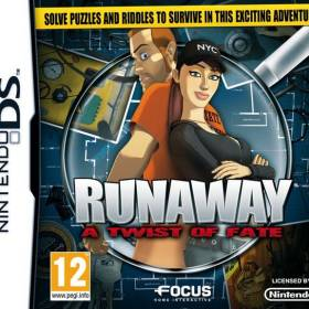 The cover art of the game Runaway: A Twist of Fate.