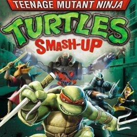 The cover art of the game Teenage Mutant Ninja Turtles: Smash-Up.