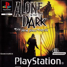 The cover art of the game Alone in the Dark: The New Nightmare.