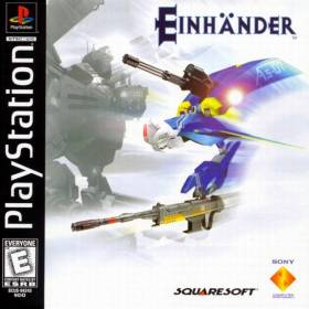 The cover art of the game Einhander.