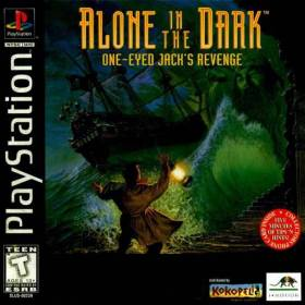 The cover art of the game  Alone in the Dark: One-Eyed Jack's Revenge.