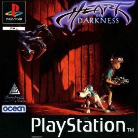 The cover art of the game Heart of Darkness.