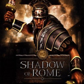 The cover art of the game Shadow of Rome.