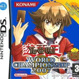 The cover art of the game Yu-Gi-Oh! World Championship 2007 .