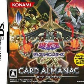 The coverart thumbnail of Yu-Gi-Oh! Duel Monsters GX Card Almanac