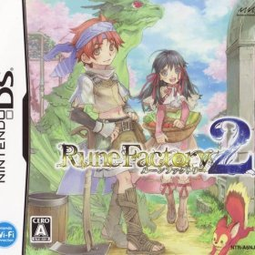 The cover art of the game Rune Factory 2 .