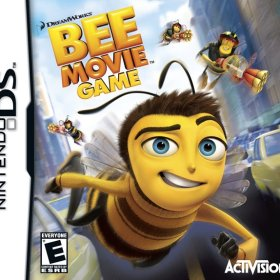 The cover art of the game Bee Movie Game .