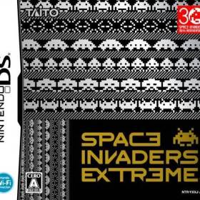 The cover art of the game Space Invaders Extreme .