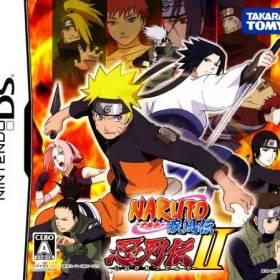 The cover art of the game Naruto Shippuden - Shinobi Retsuden 2 .