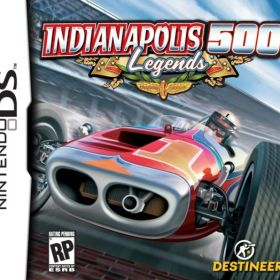 The cover art of the game Indianapolis 500 - Legends .
