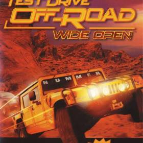 The cover art of the game Test Drive Off-Road Wide Open.