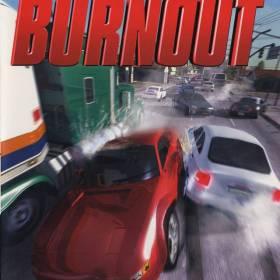 The cover art of the game Burnout.