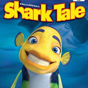 The cover art of the game Shark Tale.