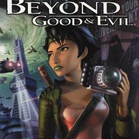 The cover art of the game Beyond Good & Evil.