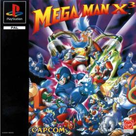 The cover art of the game Mega Man X3.