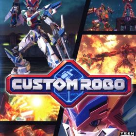 The cover art of the game Custom Robo.