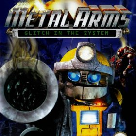 The cover art of the game Metal Arms: Glitch in the System.