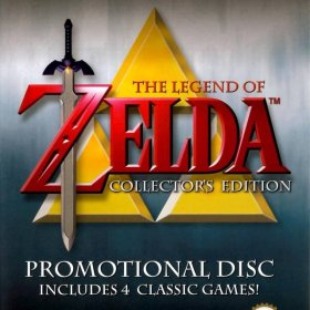 The cover art of the game The Legend of Zelda Collector's Edition.
