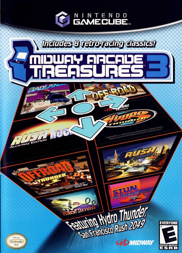 The coverart image of Midway Arcade Treasures 3