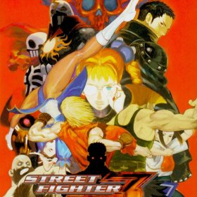 The cover art of the game Street Fighter EX 3.