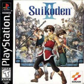 The cover art of the game Suikoden II [Bug Fix Patched].