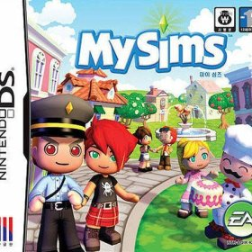 The cover art of the game MySims.