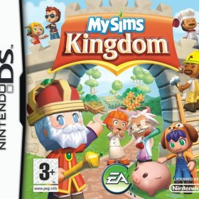 The cover art of the game MySims Kingdom.