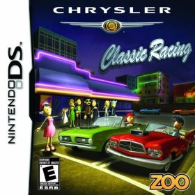 The cover art of the game Chrysler Classic Racing .