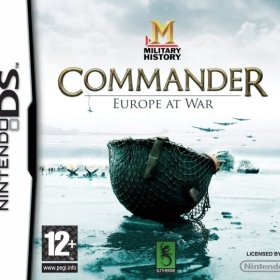 The cover art of the game Military History Commander: Europe at War .