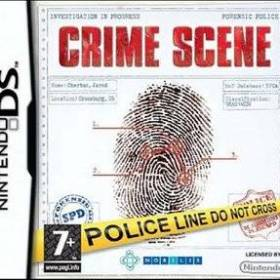 The cover art of the game Crime Scene .