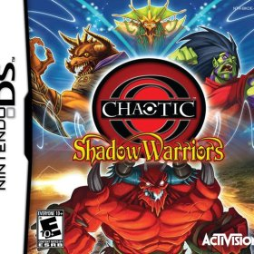 The cover art of the game Chaotic: Shadow Warriors.
