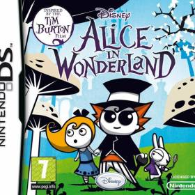 The cover art of the game Alice in Wonderland.
