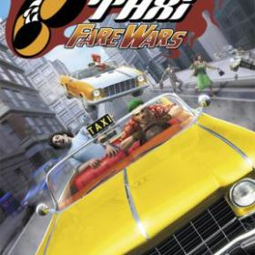 The cover art of the game Crazy Taxi: Fare Wars.