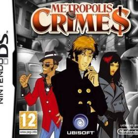 The cover art of the game Metropolis Crimes .