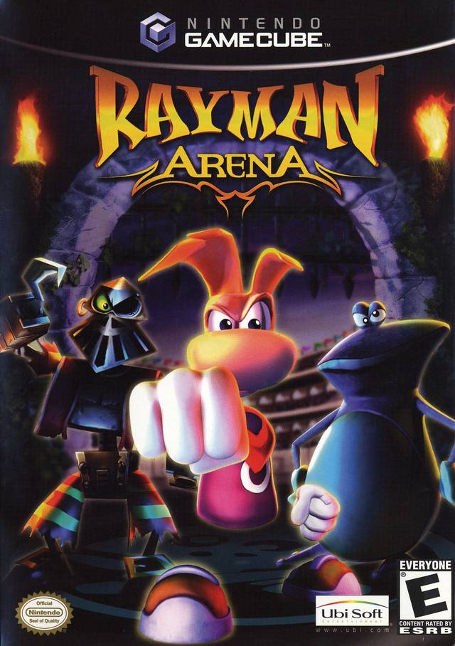 The coverart image of Rayman Arena