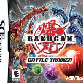 The cover art of the game Bakugan - Battle Brawlers: Battle Trainer .