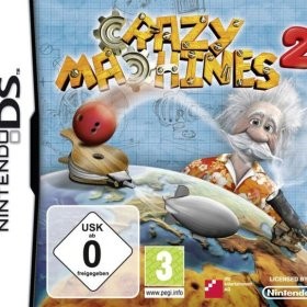 The cover art of the game Crazy Machines 2 .