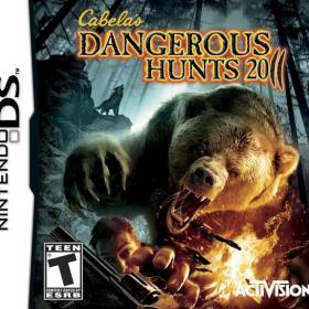 The cover art of the game Cabela's Dangerous Hunts 2011.