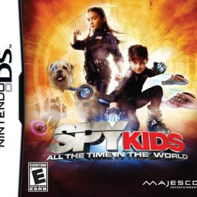 The cover art of the game Spy Kids: All the Time in the World .