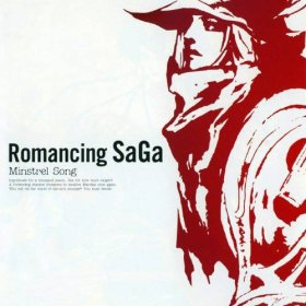 The cover art of the game Romancing SaGa: Minstrel Song.