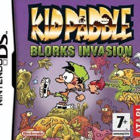 The cover art of the game Kid Paddle: Blorks Invasion.