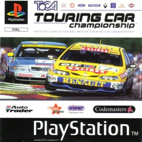 The cover art of the game TOCA Touring Car Championship.