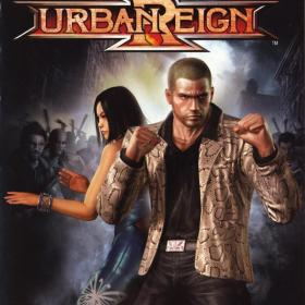The cover art of the game Urban Reign.