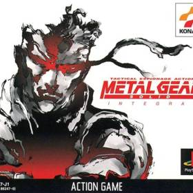 The cover art of the game Metal Gear Solid Integral.