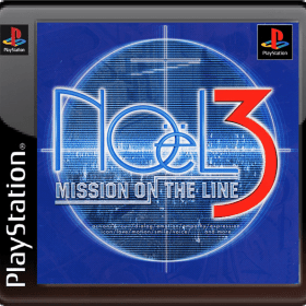 The cover art of the game NOeL 3: Mission on the Line.