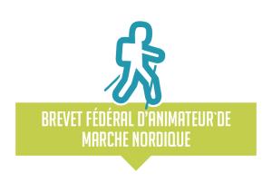 logo brevet fédéral animateur de marche nordique