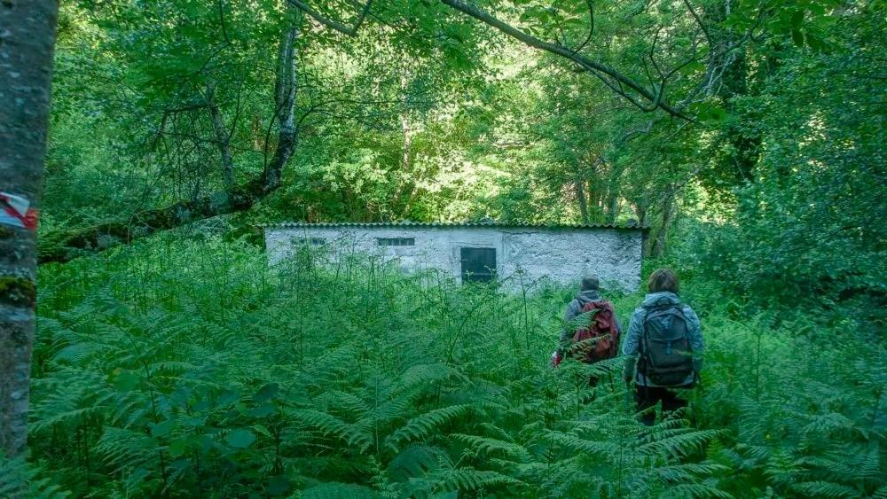 Cabane des Clarans sur le GR10
