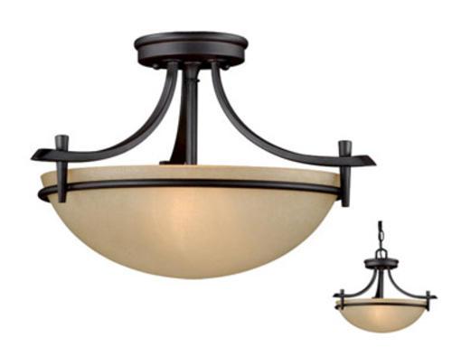 Light Oil Rubbed Bronze Semi Flush Ceiling Menards