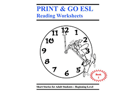 [INGLÉS] Print & Go ESL Reading Worksheets