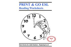 [INGLÉS] Print & Go ESL Reading Worksheets